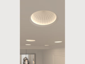 Carefully crafted Element Reflections domes are available in 5u201d8u201d and 12u201d diameters. These LEDs are recessed into the ceiling and act as reflectors to a ... & Elements Reflections Decorative Recessed Downlights | LIGHTPHOLIO ...